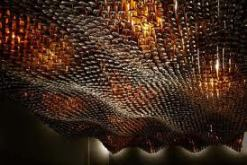 Aesop Glass Bottle Ceiling