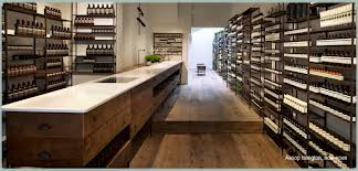 Aesop stark shelves 2 with Aesop reference