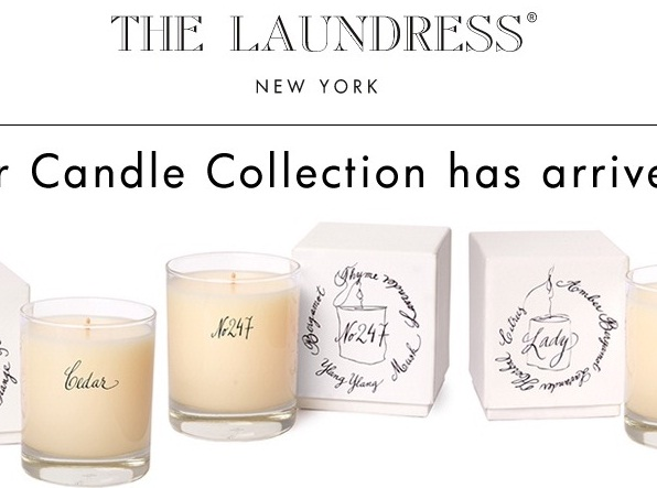 Candles by the laundress a natural expansion ueber brands for Best scented candle brands