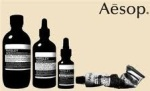 Aesop logo and product