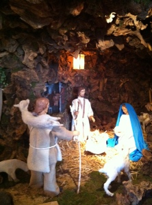 Root Wood Nativity Scene, Bad Honnef, Germany