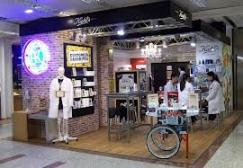 Kiehl's store in store with Mr Bones 3