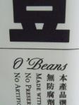 O'Beans logo