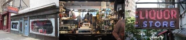 J.Crew liquor store