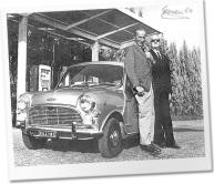 Alex Issigonis and Enzo Ferrari