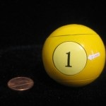 Sig Object billiard ball by Rob Agredo