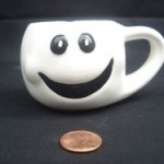 Sig Object smiling mug by Ben Greenman