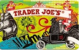 Trader Joe's painted logo