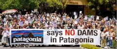 no dams in Patagonia