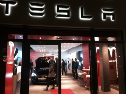 Not dealership but 'showroom' in Berlin