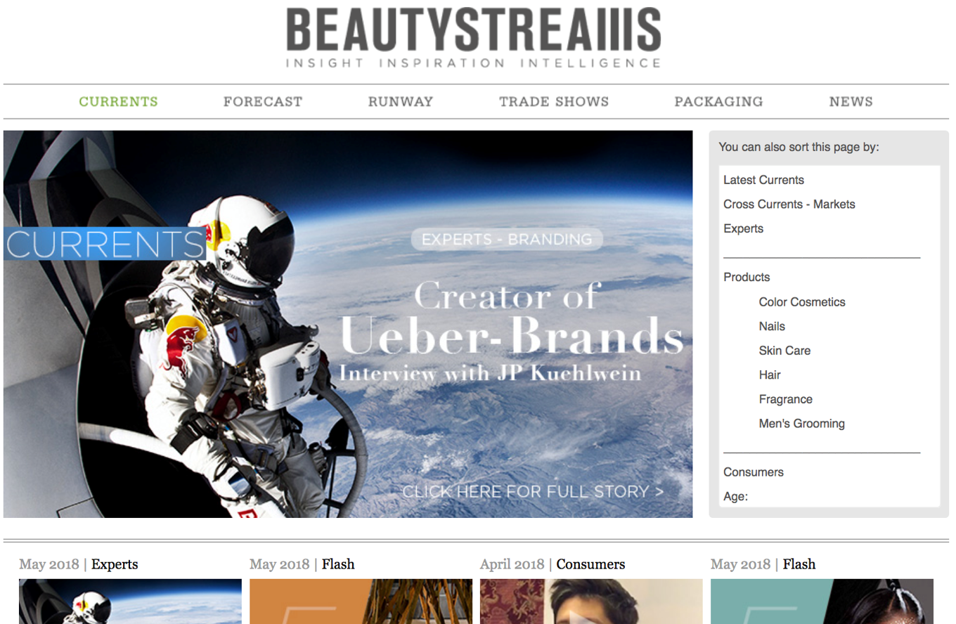 BeautySteams Article Front horizontal