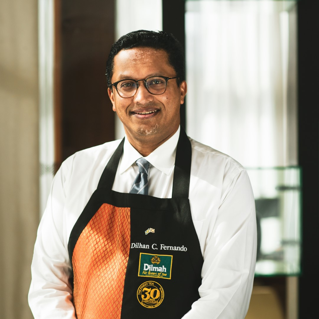 Dilhan C Fernando CEO Dilmah Tea